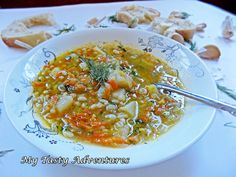 We are having the coldest winter in New Jersey since Today, the temperature was just 2 degrees F plus a windshield reaching Brrrr…. Soup Recipes, Cooking Recipes, Healthy Recipes, Cooking Ideas, Fall Recipes, Healthy Foods, Food Ideas, Dinner Recipes, Polish Food Traditional