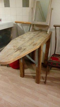 Stijgerhouten tafel/strijkplank