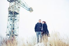 Sneeuw NDSM LoveShoot / Pre Wedding Shoot / Engagement Shoot