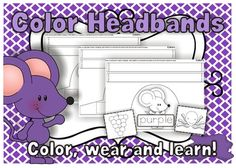 "FREE LANGUAGE ARTS LESSON - ""Colors Headbands"" -  Go to The Best of Teacher Entrepreneurs for this and hundreds of free lessons.  Pre-Kindergarten - 1st Grade  #FreeLesson   #TeachersPayTeachers   #TPT   #LanguageArts  http://www.thebestofteacherentrepreneurs.net/2014/08/free-language-arts-lesson-colors.html"