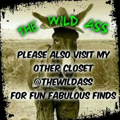 PARTY @ THE WILD ASS!!! Dint miss the upcoming Posh Party in my other closet @thewildass  NWT, NWOT, & PRE-LOVED ITEMS Tops Tank Tops