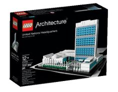 LEGO 2013 Architecture 21018 United Nations Headquarters by motayan, via Flickr