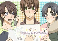 sekai ichi hatsukoi, ukes, their all so cute Struck with love ^^