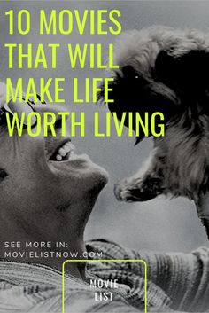 Entertainment Discover 10 Movies That Will Make Life Worth Living - Movie List Now 10 Movies That Will Make Life Worth Living - Movie List Now See Movie, Movie List, Film Movie, Cinema Movies, Netflix Movies, Funny Movies, Spiritual Movies, Motivation Movies, Tv Series To Watch