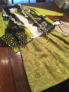 お買い得福服展ありがとうございました。 : lace diary #miyaco #fashion #lace #レース  #コサージュ