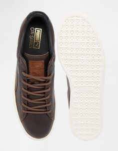 Image 3 of Puma Basket Leather Citi Trainers