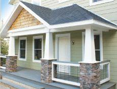 modern craftsman front porches   Craftsman Style Porch Columns