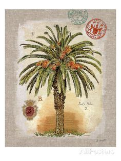 Chad Barrett Posters, Prints, Paintings & Wall Art for Sale Palm Tree Drawing, Palm Tree Art, Palm Trees, Chad Barrett, Framed Artwork, Wall Art Prints, Dates Tree, Red Palm Oil, Affordable Wall Art