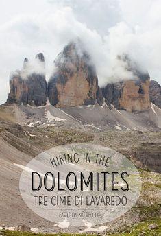 Tre Cime de Lavaredo: hiking in the Dolomites, Italy