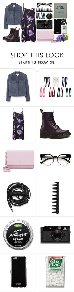 """bird"" by redruum on Polyvore featuring мода, MANGO, Accessorize, Louise Coleman, Dr. Martens, Kate Spade, Urbanears, GHD, Leica и Givenchy"