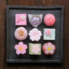 Sakura Themed Jelly Candies by bananagranola (busy), via Flickr