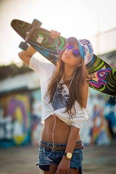 Pin em Longboarding, Skateboarding