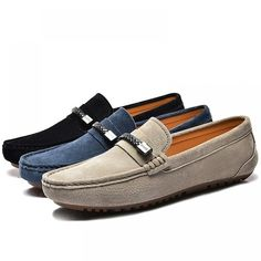 Home Of Leather Collections Leather Slip Ons, Suede Leather, Leather Shoes, Moccasins Mens, Driving Shoes, Fall Shoes, Men S Shoes, Wedding Men, Types Of Shoes