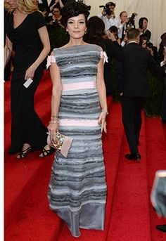 Met Ball 2014: Company's Best Dressed! Company fave Lily Allen making a statement!