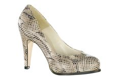 Snake Print Pumps #animalprint