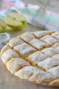 Apple Desserts, Apple Recipes, Sweet Recipes, Bakery Recipes, Dessert Recipes, Cooking Recipes, Thanksgiving Cupcakes, Easy Puff Pastry Recipe, Quilted Cake