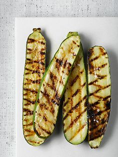 Zucchini: It can be tough to incorporate new veggies into your diet, but grilling is one of the best opportunities to get creative. #healthy #grilling
