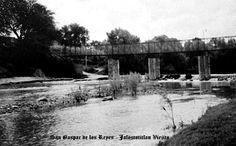 Puente y rio en San Gaspar de los Reyes delegacion de Jalostotitlan Jalisco Mexico