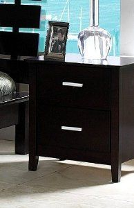 Coaster Contemporary Style Night Stand, Cappuccino Wood Finish --- http://www.pinterest.com.mnn.co/6lb