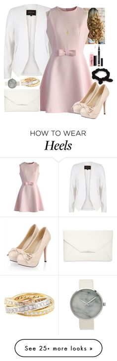 """""""High Heels"""" by luckystrawberry on Polyvore featuring River Island, Chicwish, Gucci, Cartier, Style & Co., MAC Cosmetics, Yves Saint Laurent and NLY Accessories"""