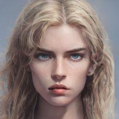 Digital Portrait, Portrait Art, Fantasy Portraits, Character Portraits, Elf Art, Magic City, Fantasy Characters, 18th Century, Character Inspiration