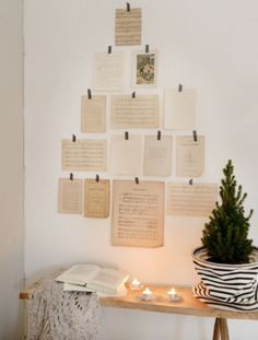 """This Christmas decoration idea is from our feature """"White Christmas"""""""