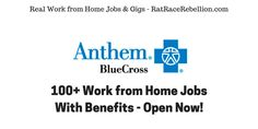 100+ Work from Home Jobs at Anthem Open Now - With Benefits