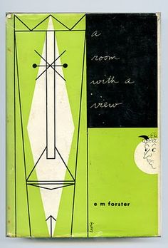 'A room with a view' book cover. Design by Alvin Lustig.