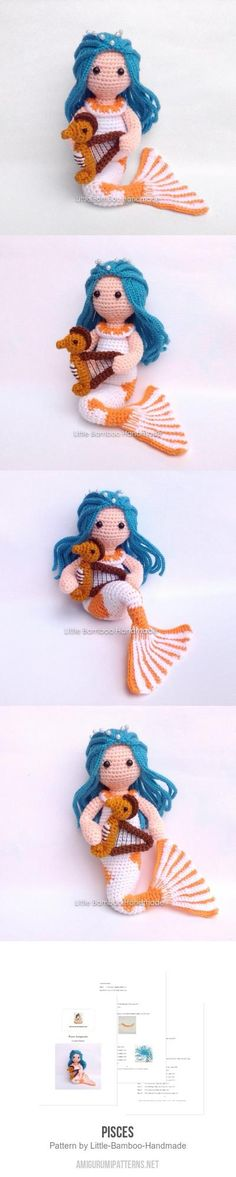 Pisces Amigurumi Pattern