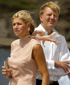 Queen Maxima and King Willem-Alexander of the Netherlands Dutch Princess, Princess Mary, Queen Of Netherlands, King Alexander, Dutch Royalty, Queen Maxima, Classy Women, Royal Fashion, King Queen