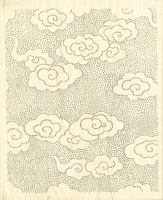 Texture and patterns Chinese Patterns, Japanese Patterns, Textile Patterns, Print Patterns, Textiles, Cthulhu, Cloud Tattoo, Cloud Art, Clouds Pattern