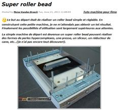 Make your own Super Bead machine.  You can copy the text into Google translator for english.