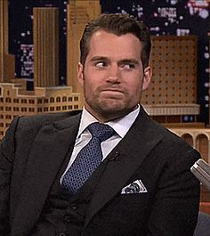 If you think you can finally breathe again, you're mistaken. This GIF is from the moment when Henry insinuated that the only cardio he does is sex. These GIFs Of Henry Cavill Made Me Weak So They'll Probably Make You Weak Too Henry Caville, Love Henry, King Henry, Christian Grey, Tom Hardy, Adam Levine, Henry Superman, Ryan Gosling, Henry Williams