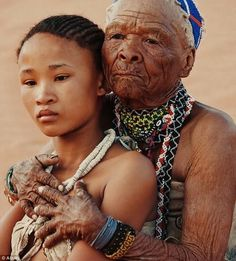 The Khoisan people are an indigenous hunter-gatherer people of Southern Africa whose roots are literally ancient. Khoisan are one of the 14 people groups from which all humanity descended and Khois… Black Is Beautiful, Beautiful Images, Beautiful People, African Tribes, African Diaspora, African Nations, We Are The World, People Of The World, African Culture