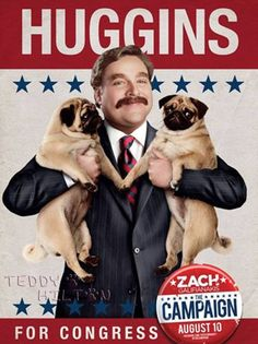 For their upcoming movie, The Campaign, Zach Galifianakis and Will Ferrell face off in a race for Congress.  Galifianakis plays a dimwit who is duped into...