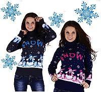 Tycrbq свитер со снеговиком