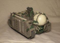 Miniature Wargame Conversions: Nurgle Vindicator Tank