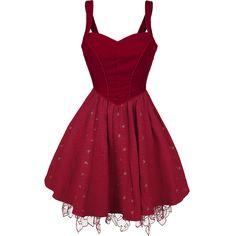 Through The Looking Glass - Red Queen Dress - Sukienka Medium - Alicja w Krainie Czarów