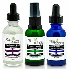 Organic Liquid Facelift: Vitamin C Serum, Retinol, Hyaluronic Acid. Voted Most Effective Anti Aging and Acne Treatment. Take 10 Years Off with Dr Recommended Formula. Build Collagen, Erase: Acne, Lines, Under Eye Wrinkles. Premium Organic Ingredients$27.95   http://www.amazon.com/gp/product/B00OYEXE1U?ie=UTF8&camp=1789&creativeASIN=B00OYEXE1U&linkCode=xm2&tag=daily0714-20