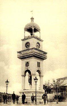 Yanya Saat Kulesi / 1907 Ottoman Empire, Art And Architecture, Notre Dame, Istanbul, Greece, Europe, Island, World, Building
