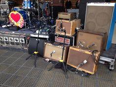 Neil Young guitar rig... Telluride 2016 Guitar Pedal Board, Slide Guitar, Young Guitar, Fender Electric Guitar, Boss Audio, Guitar Rack, Bass Amps, Instruments, Pedalboard