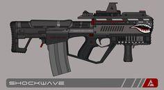 Quicksilver Industries: 'Tigershark' Auto Shotgun by Shockwave9001.deviantart.com on @DeviantArt