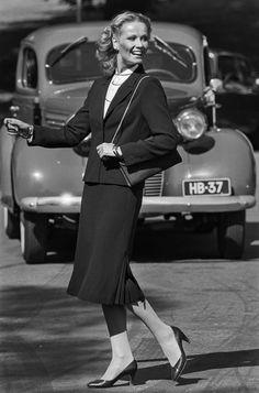 Women's wear 1980. Photo: Kari Pulkkinen. Museovirasto
