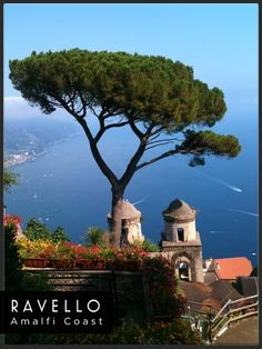 Travel Poster - Ravello - Amalfi Coast - Italy.