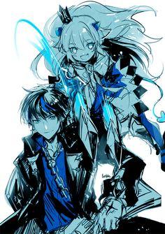 Elsword - Lu and Ciel