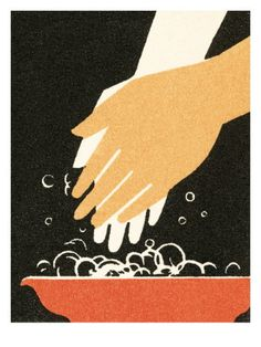 Washing hands Posters by Pop Ink - CSA Images at AllPosters.com