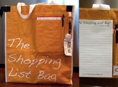 The Shopping List Bag: Cool Pick of the Week