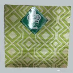Green Nigerian Plaid Fabric for Wrapper,women Gele,African Head Scarf ASO OKE…