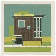 Circle House, Triangle House, Square House - Chris Turnham