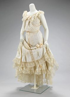 Lifting Skirts and Loosening Ties: What goes under an Edwardian Dress? April 2, 2013